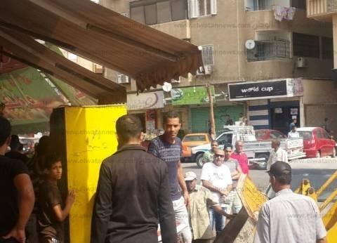 بالصور  أمن الإسماعيلية يزيل 44 مخالفة ويغلق محلين دون ترخيص في حملة مكبرة