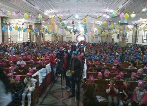 الكنيسة تقيم الحفل السنوي لمدارس الأحد في طهطا