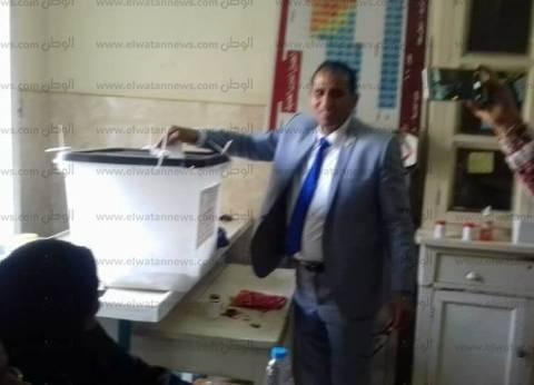 قيادات جامعة أسوان يدلون بأصواتهم في الانتخابات الرئاسية