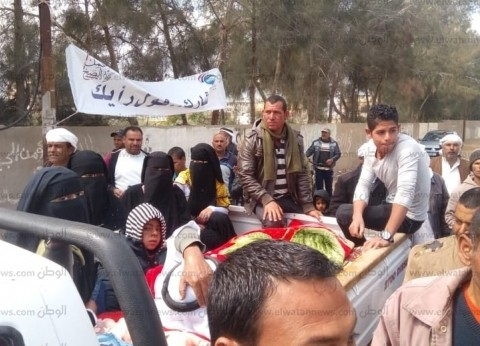 إقبال كثيف بلجان مدن وقرى شمال سيناء