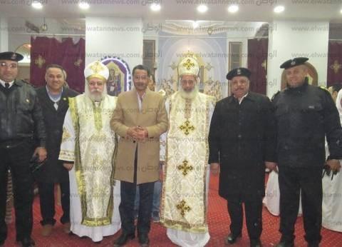 مدير أمن الإسماعيلية يتفقد الكنائس ويقدم التهاني بمناسبة عيد الغطاس