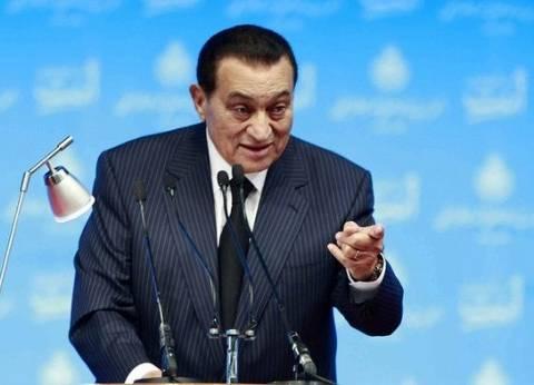 """مبارك في فيديو نادر: حادث طائرة """"البطوطي"""" قرب أمريكا """"عمل تخريبي"""" وليس انتحارا"""