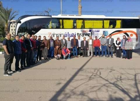 """انطلاق قافلة جامعة المنصورة الطبية """"جسور الخير 3"""" لجنوب سيناء"""