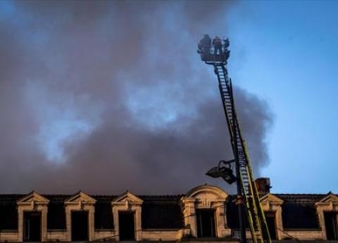 """19 جريحا في حريق بمدينة """"تولوز"""" الفرنسية"""
