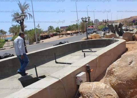 بدء التشغيل التجريبي للساعة السكانية بمبنى ديوان محافظة دمياط