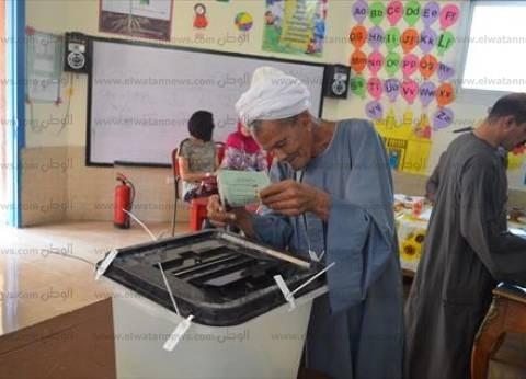 رئيس أركان المنطقة العسكرية يتفقد سير العملية الانتخابية في المنيا