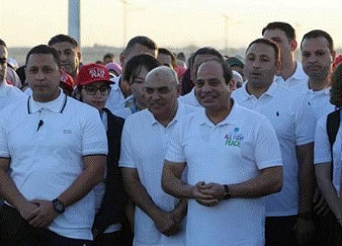 """السيسي لـ""""شباب العالم"""": لن ننساكم.. واذكروا دائما مصر المحبة والسلام"""