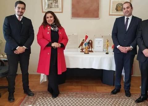 سفيرة مصر بالنرويج: انخفاض الحرارة لم يمنع الناخبين من التصويت