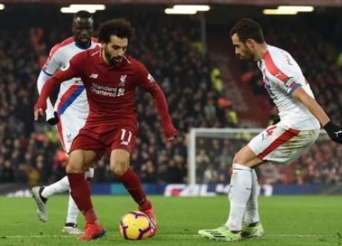 صوت لـ«مومو»  محمد صلاح ينافس على لاعب الشهر في ليفربول
