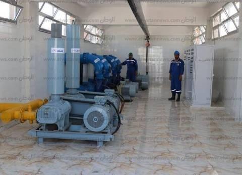 """محافظ قنا يتفقد الأعمال الإنشائية بمحطة مياه """"أبودياب"""""""