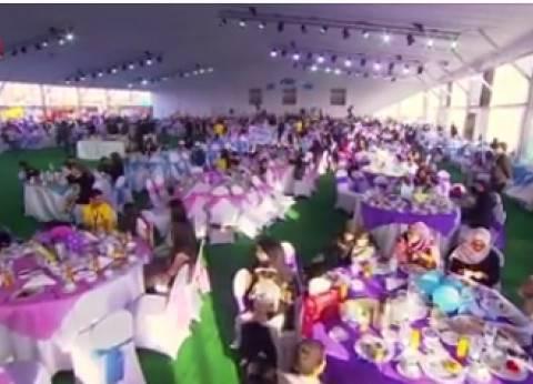 بالفيديو  القوات المسلحة تنظم احتفالية لتكريم أسر الشهداء لليوم الثالث