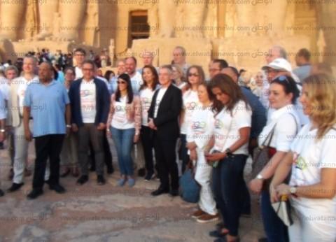 """أمين """"الأعلى للآثار"""": تعامد الشمس حضره أكثر من 26 سفيرا من 16 دولة"""
