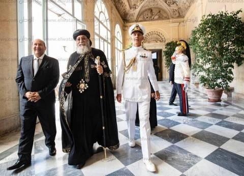 البابا: مصر صاحبة تاريخ وحضارة غنية.. والمصريين يعيشون في محبة