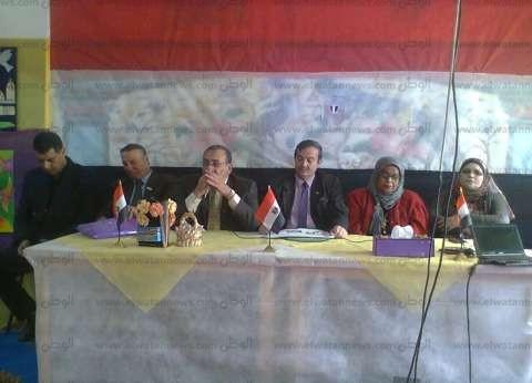 """بالصور  """"إعلام زفتى"""" ينظم ندوة """"في حب مصر.. يوم استعادة الكرامة 6 أكتوبر"""""""