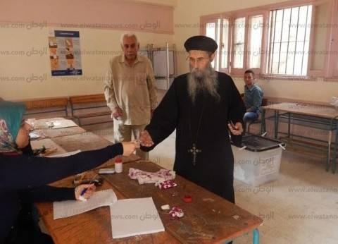 بالصور| القس شاروميم: توجهت للجنتي مبكرا رغم ظروفي الصحية لأن رجال الدين قدوة