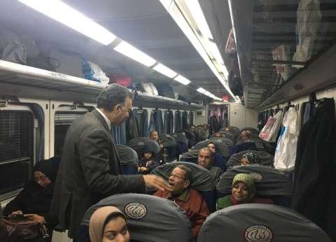 «وزير النقل» فى جولة مفاجئة بالإسكندرية: تكثيف الإجراءات الأمنية فى المحطات والقطارات