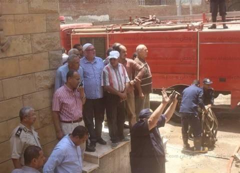 إخماد حريق شب في شقة بمنطقة أوسيم