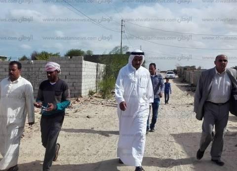 """وكيل """"التضامن الاجتماعي"""" بشمال سيناء يقرر صرف معونات لأهالي غرب العريش"""