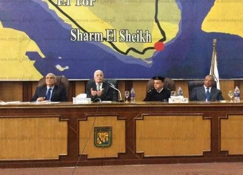 """محافظ جنوب سيناء يدين الحادث الإرهابي بـ""""كمين النقب"""""""