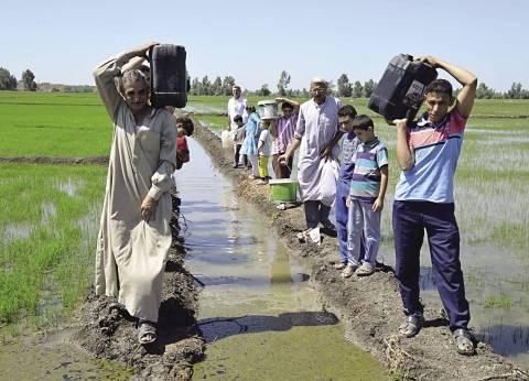 """غضب بين أهالي دمياط لاستمرار أزمة انقطاع المياه والكهرباء.. و""""الشركة"""": نعمل على حل الأزمة"""