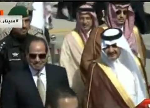 عاجل| أبو الغيط وأمير المنطقة الشرقية يستقبلان السيسي بالسعودية