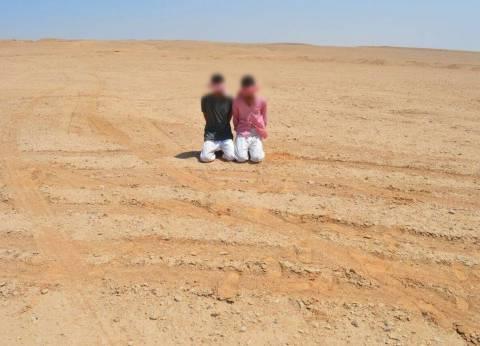 المتحدث العسكري: تدمير سيارتين دفع رباعي والقبض على اثنين في سيناء