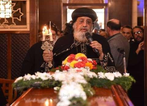 البابا تواضروس يترأس قداس أربعين إبيفانيوس في دير أبو مقار ويشكر الأمن