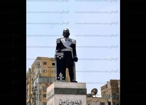 """""""التنسيق الحضاري"""": جار العمل على إعادة تمثال الخديوي إسماعيل لصورته"""