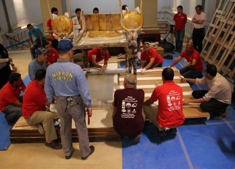 """""""الآثار"""" تنظم برنامجا تدريبيا لإدارة المواقع الأثرية بمصر الوسطى"""