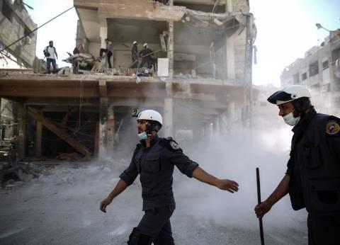 غارات روسية وسورية على إدلب ومحيطها بعد توقف لساعات