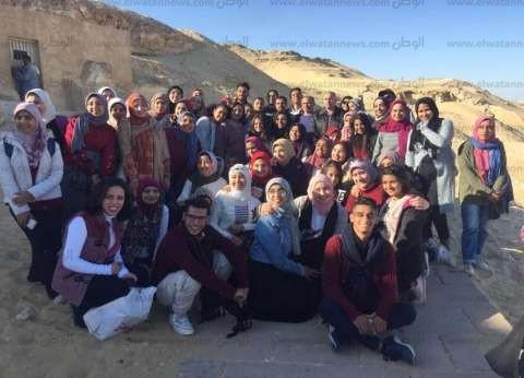 بالصور| ندوات ورحلات لطلاب جامعة أسيوط لتنمية الوعي السياحي