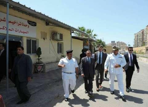 بالصور  مدير أمن الإسكندرية يتفقد وحدة مرور شرق المدينة