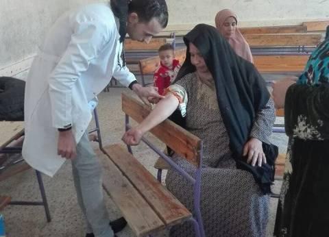 """""""معك من أجل مصر """" تنظم قافلة طبية بالمنيا"""