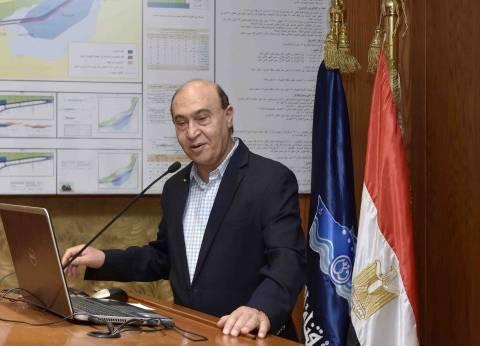 مهاب مميش يستقبل وفدا رفيع المستوى من أكاديمية البحث العلمي
