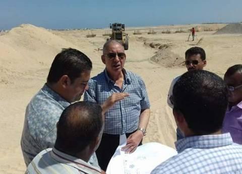 محافظ البحر الأحمر يتابع أعمال إنشاء المجزر الآلي الجديد في الغردقة