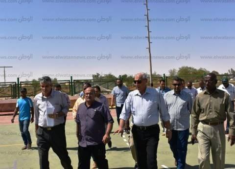 محافظ أسوان يشيد بالجهود المبذولة في مدينة أبو سمبل بأسوان