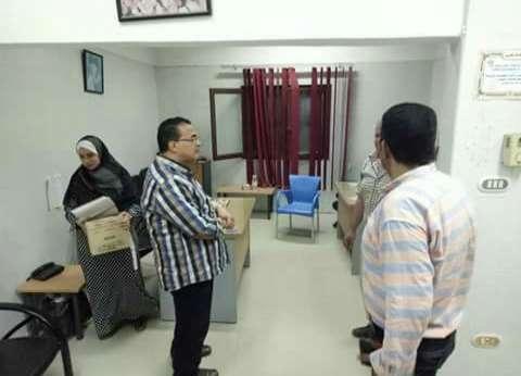 لجان تفتيشية على مستشفى كفر البطيخ ومركز صحة ثاني دمياط