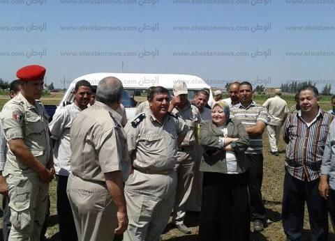 استرداد 13 فدانا من أملاك الدولة في الدلنجات بالبحيرة
