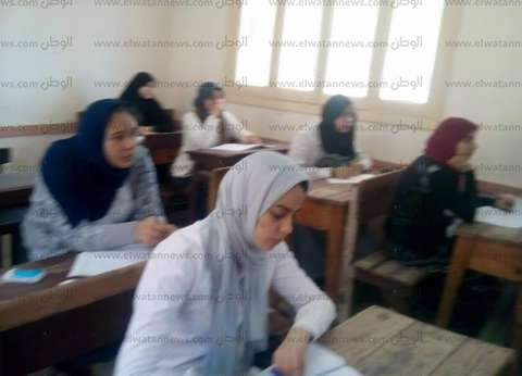 بالصور  وكيل تعليم كفر الشيخ يتفقد لجان امتحانات البوكليت للثانوية
