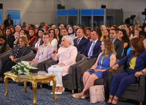 مايا مرسي: مليونا سيدة حصلن على دعم نقدي يصل إلى 20 مليار جنيه