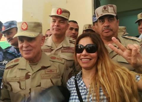 رئيس الأركان يتفقد لجان شرق الإسكندرية ويلتقط �