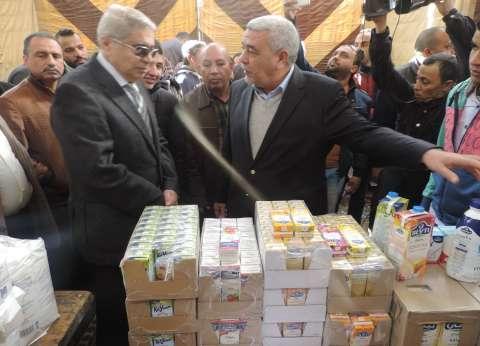 """""""التموين"""" و""""مشروعات الخدمة الوطنية"""" يتفقان على توفير سكر وأرز وزيوت ولحوم"""