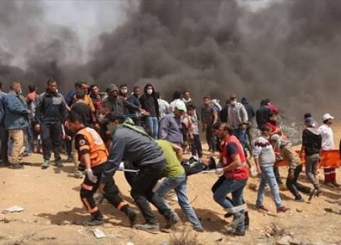 إصابات بين الفلسطينين خلال مواجهات مع الاحتلال في نابلس