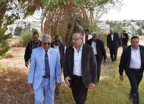 «كمالي» يتفقد استعدادات منتدى الشباب العرب الأفريقي في أسوان