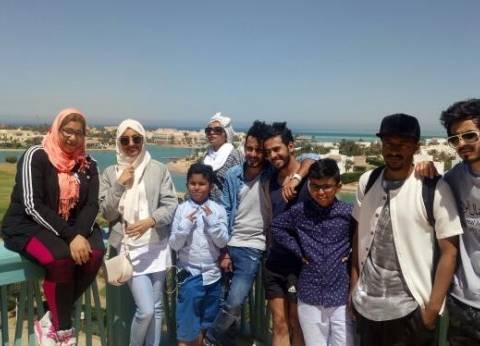 """مشاهير سعوديون يدعمون السياحة المصرية بـ""""شوف معانا الغردقة"""""""