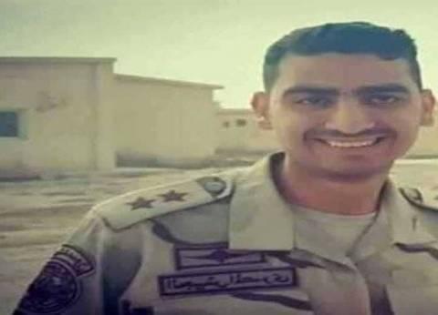 حزن في الخانكة على استشهاد الملازم أول عبدالله العيسوي