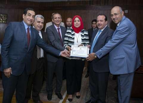 مجلس جامعة طنطا يكرّم الحاصلين على الجوائز العلمية
