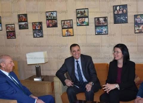 محافظ أسوان يشيد بالشراكة مع الجانب الألماني في تطوير التعليم الفني
