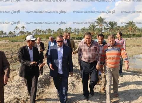 بالصور| محافظ كفر الشيخ يطالب بالانتهاء من إنشاءات مصنع الرمال السوداء