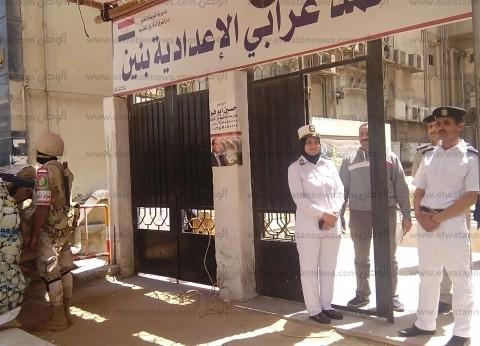توافد المواطنين على لجان الاستفتاء بالشرقية